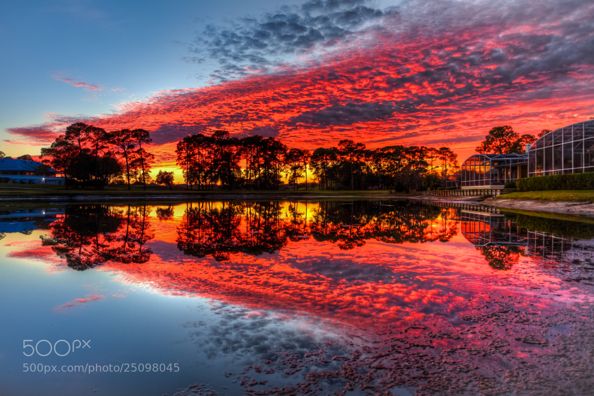 Photograph Red Sunset Reflection by George Bloise on 500px