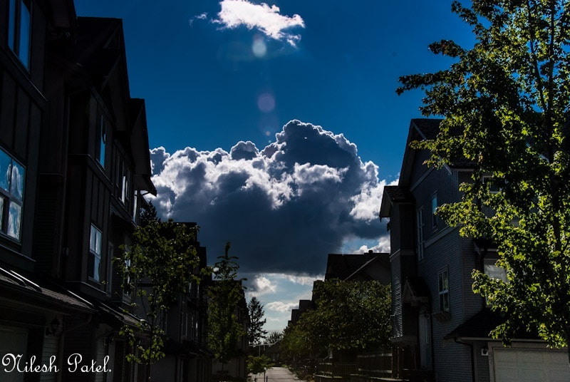 Photograph Clouds. by Nilesh Patel on 500px