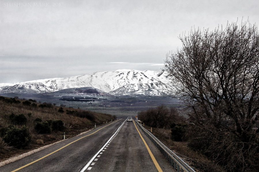 On the way to Mount Hermon by Mark Shishkin on 500px.com