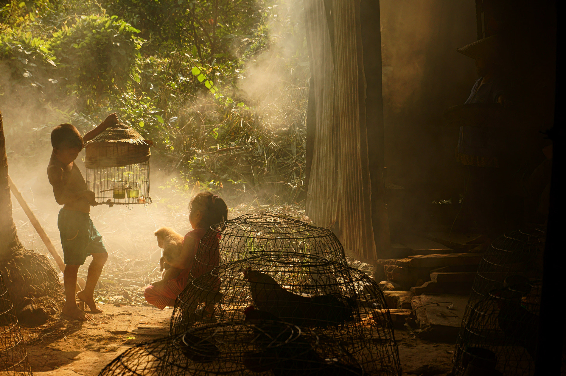 Photograph Countryside kids by Pham Ty on 500px