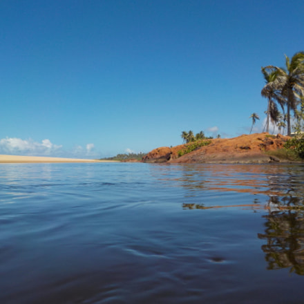 Imbassai river, Nikon COOLPIX W100