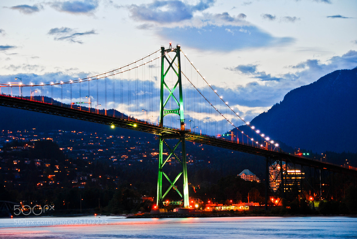 Photograph LIONS GATE BRIDGE VANCOUVER. by Nilesh Patel on 500px