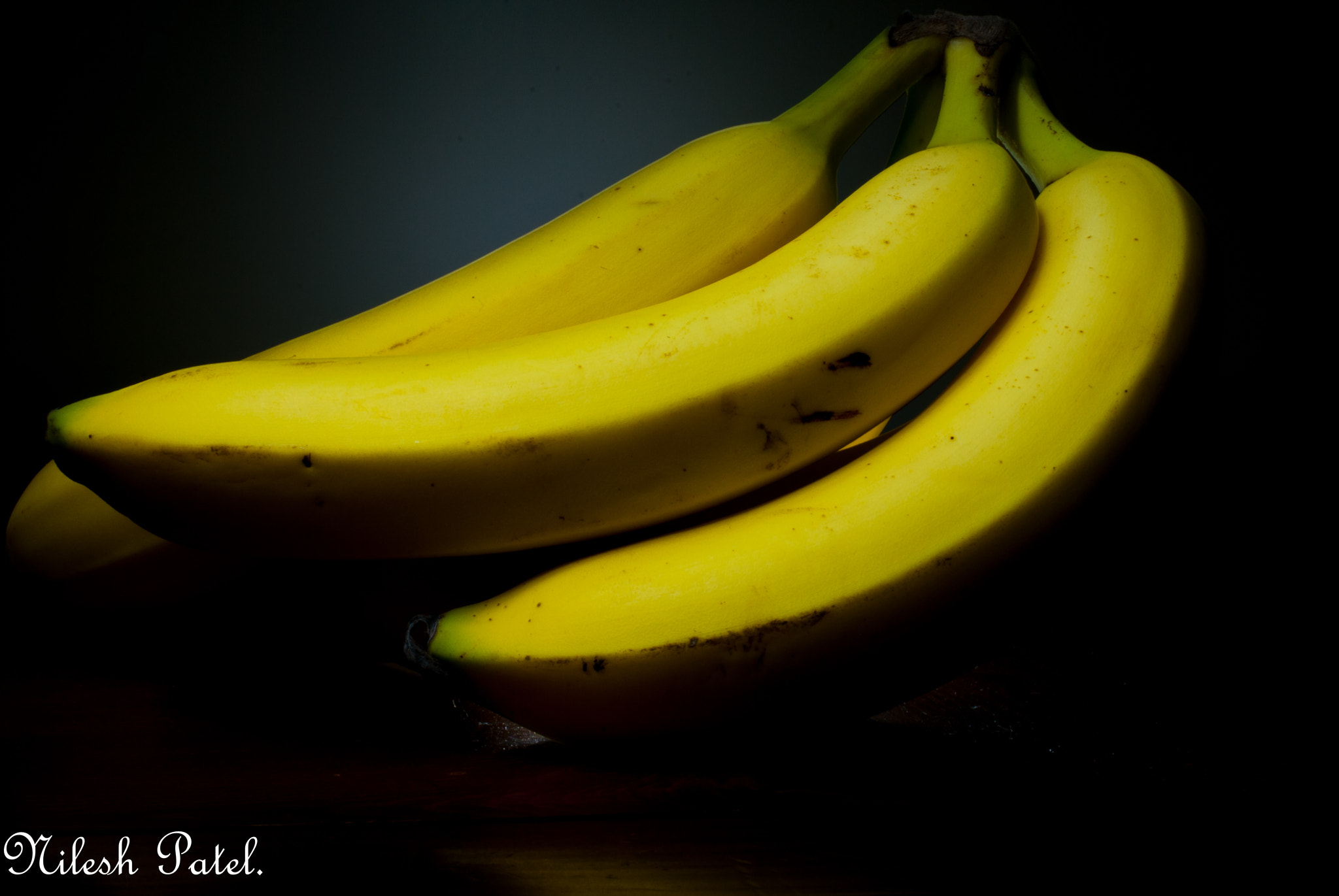 Photograph LIGHT PAINTING ON BANANA. by Nilesh Patel on 500px