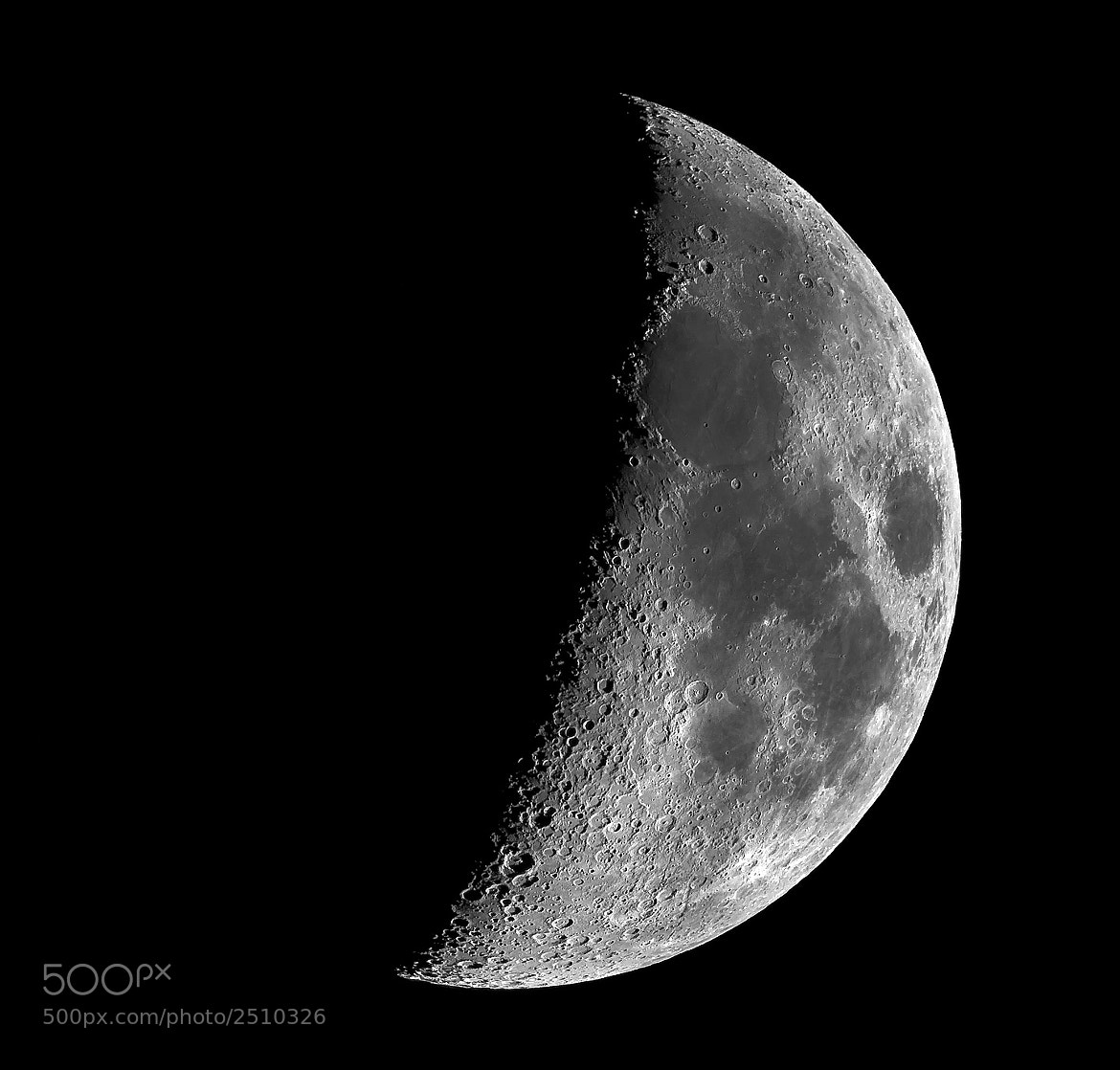 Photograph Lunar Terminator by Stephen Emerson on 500px