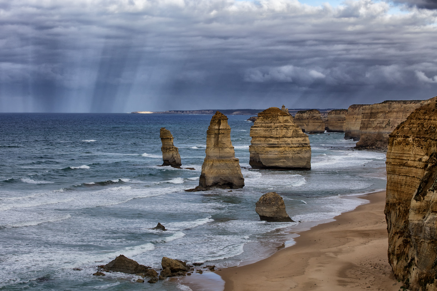 Photograph Apostle Sunbeams by Mark Meredith on 500px