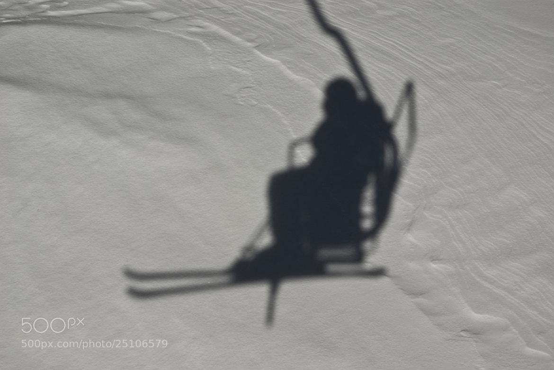 Photograph My shadow by Béla Török on 500px
