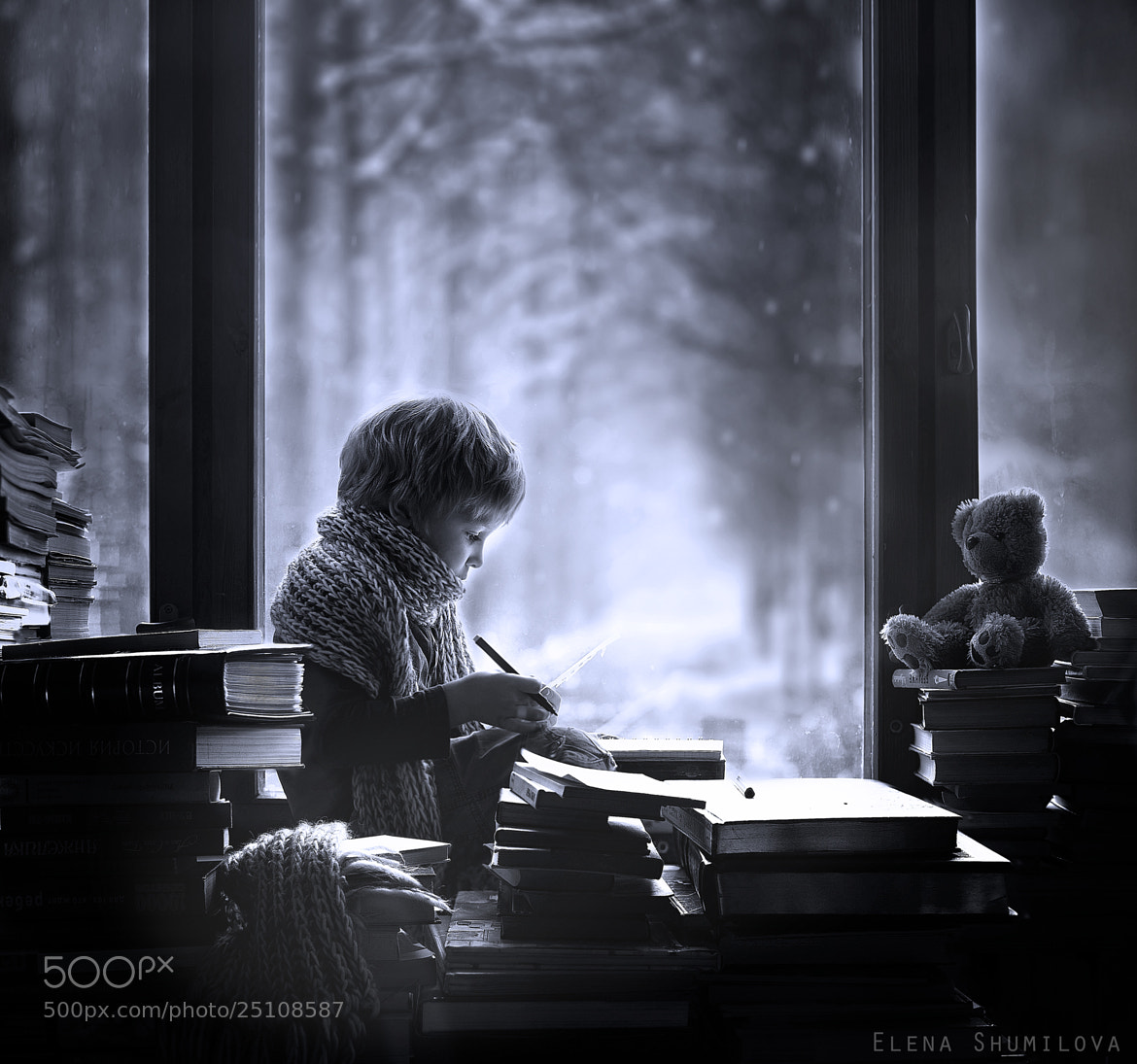 Photograph the letter... by Elena Shumilova on 500px