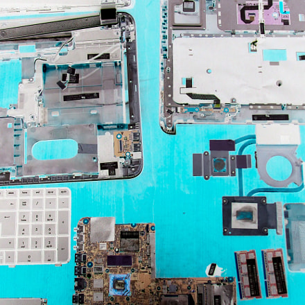Inside the computer, Fujifilm FinePix A820