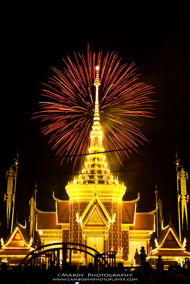 Photograph Firework during Funeral of Majesty Farther King! by Mardy Suong Photography on 500px