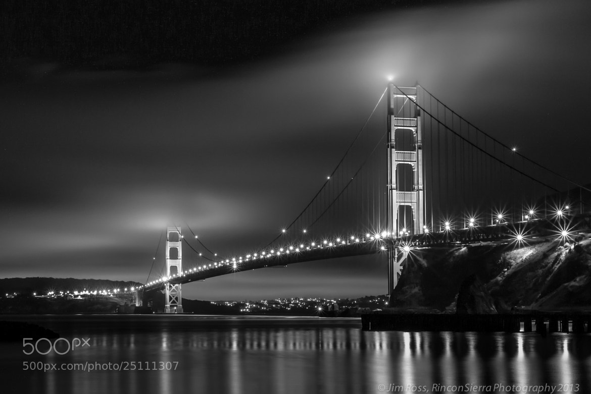 Photograph Sleepless In San Francisco!!! B&W by Jim Ross on 500px