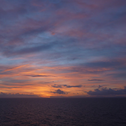 Sunset at Sea, Panasonic DMC-FH25