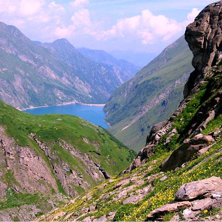 Austrian mountains, Canon DIGITAL IXUS 400