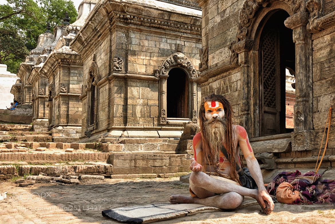 Photograph Sadhu by Csilla Zelko on 500px