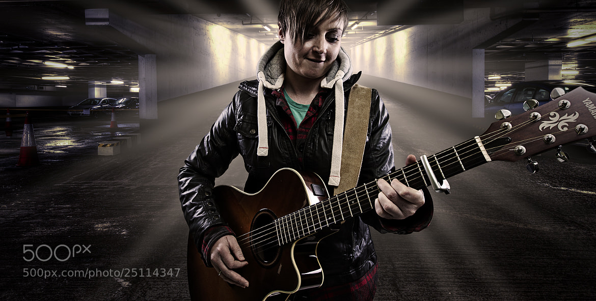 Photograph Kelly- Busker by Mark Tizard on 500px