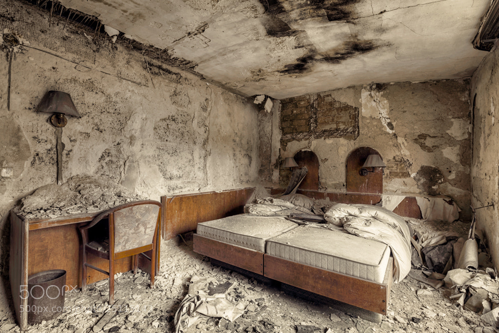 Photograph my hotel room by Christian Richter on 500px