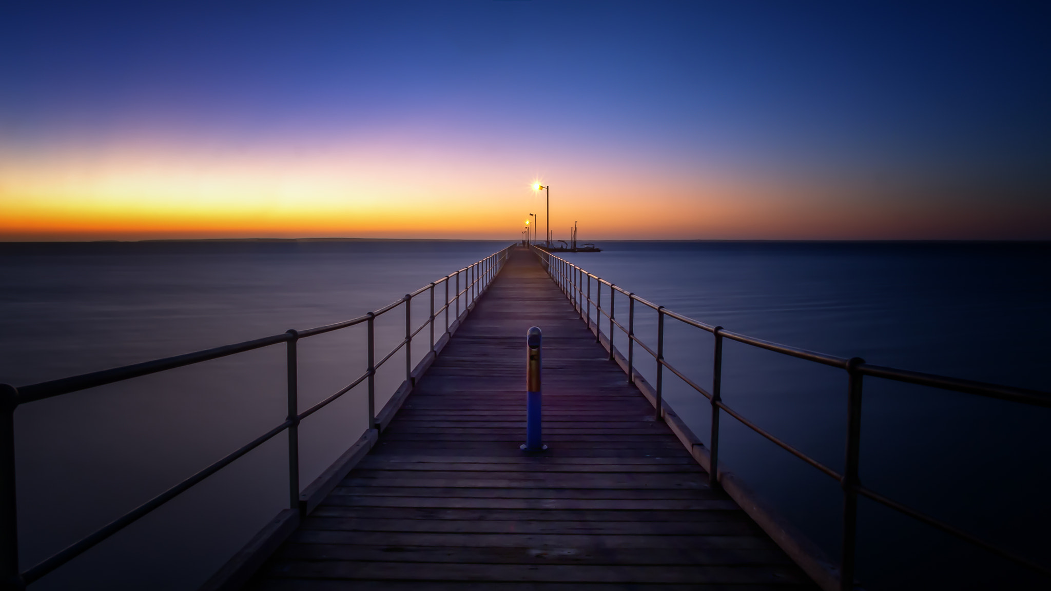 Photograph Along Ceduna Jetty by PaulEmmingsPhotography  on 500px