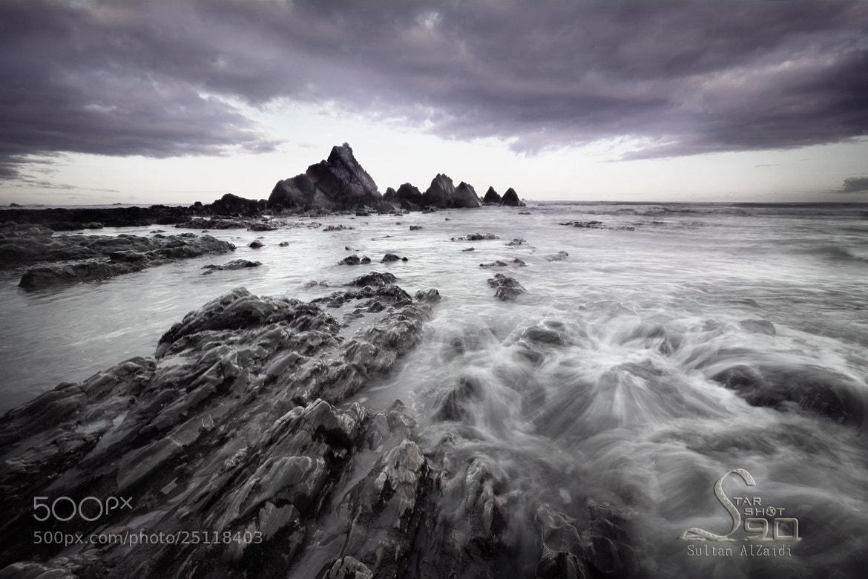 Photograph the rock beach by Sultan ســلطان  Al-zaidi الزيــدي on 500px