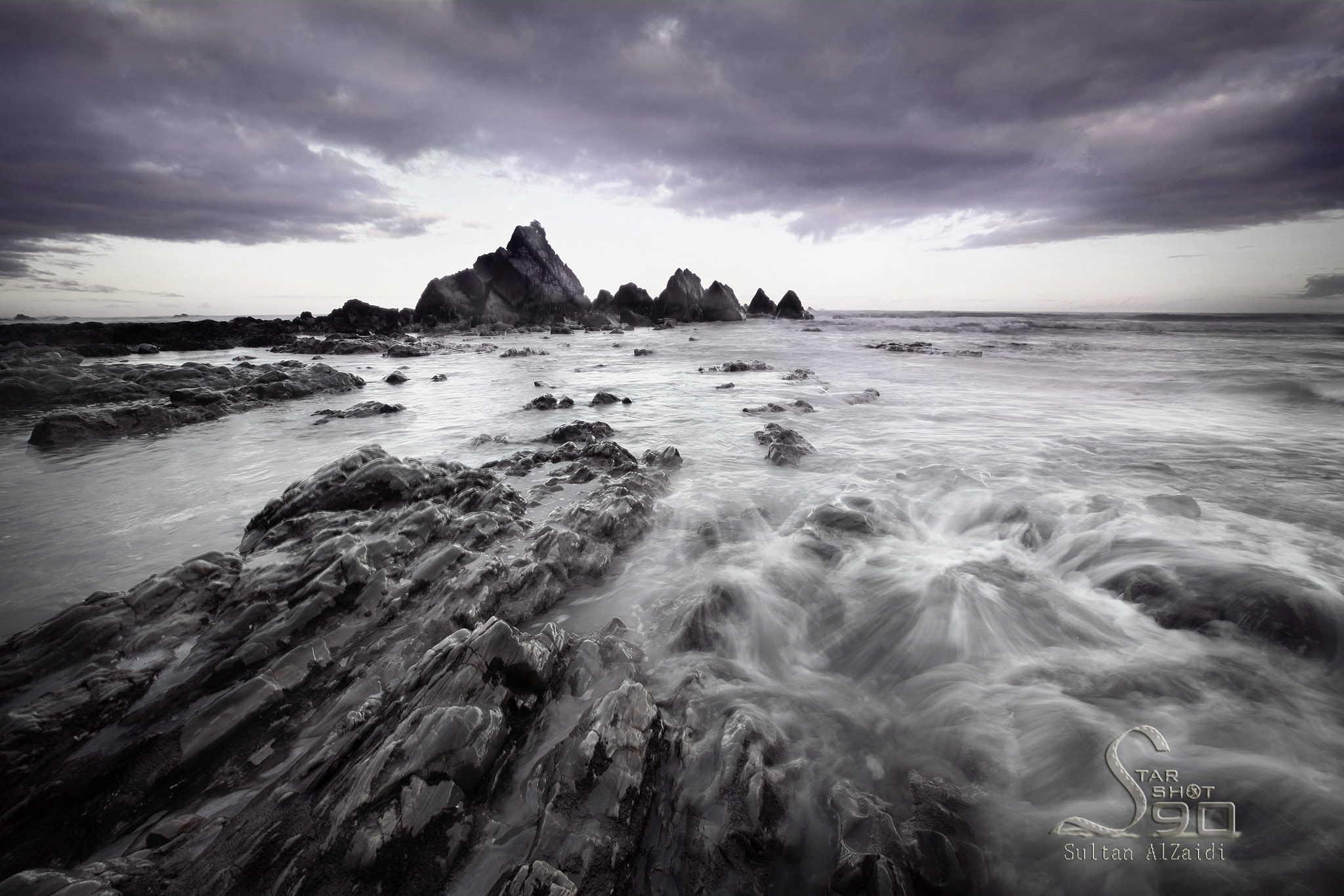 Photograph the rock beach by Sultan ســلطان  Al-zaidi الزيــدي on 500px