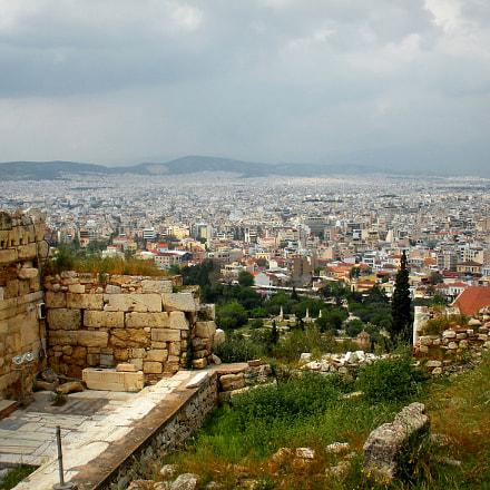 Athens - Acropolis, Nikon COOLPIX S560