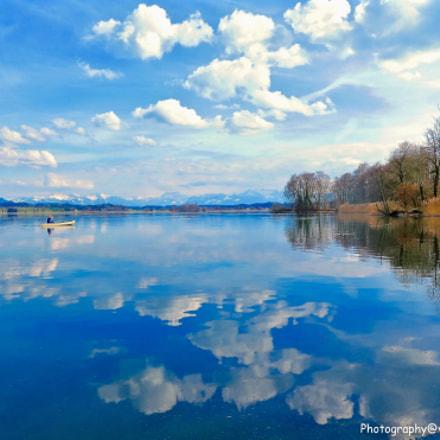 Spring at the lake