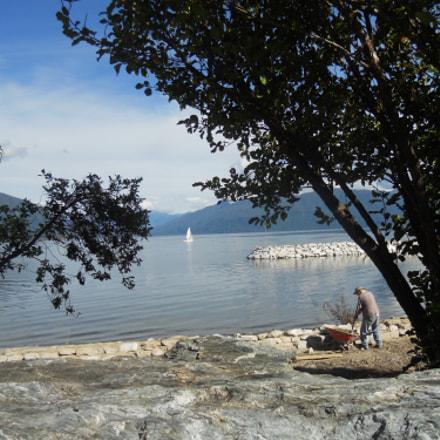 Lake Brunner, NZ, Nikon COOLPIX S4000