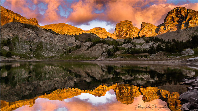 Photograph Guardians of Lake Allos by philippe isabey on 500px