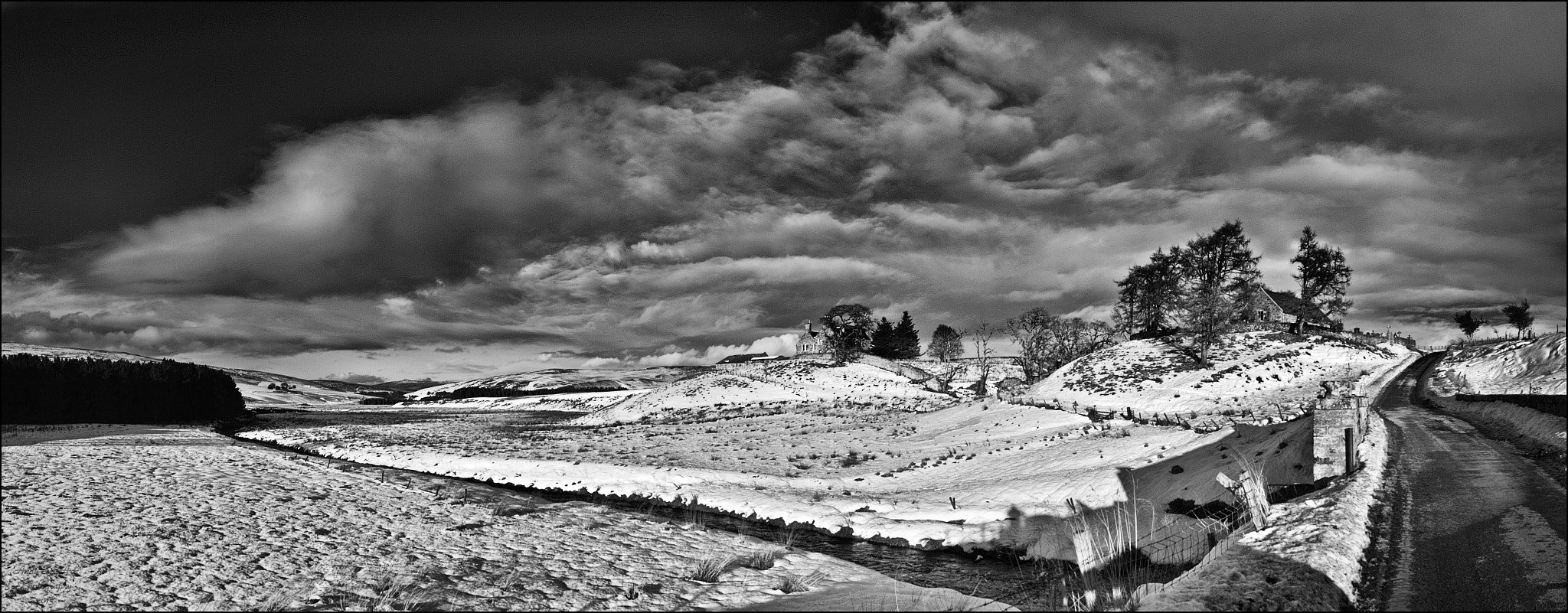 Photograph Cabrach Kirk Panorama by Andy Stuart on 500px