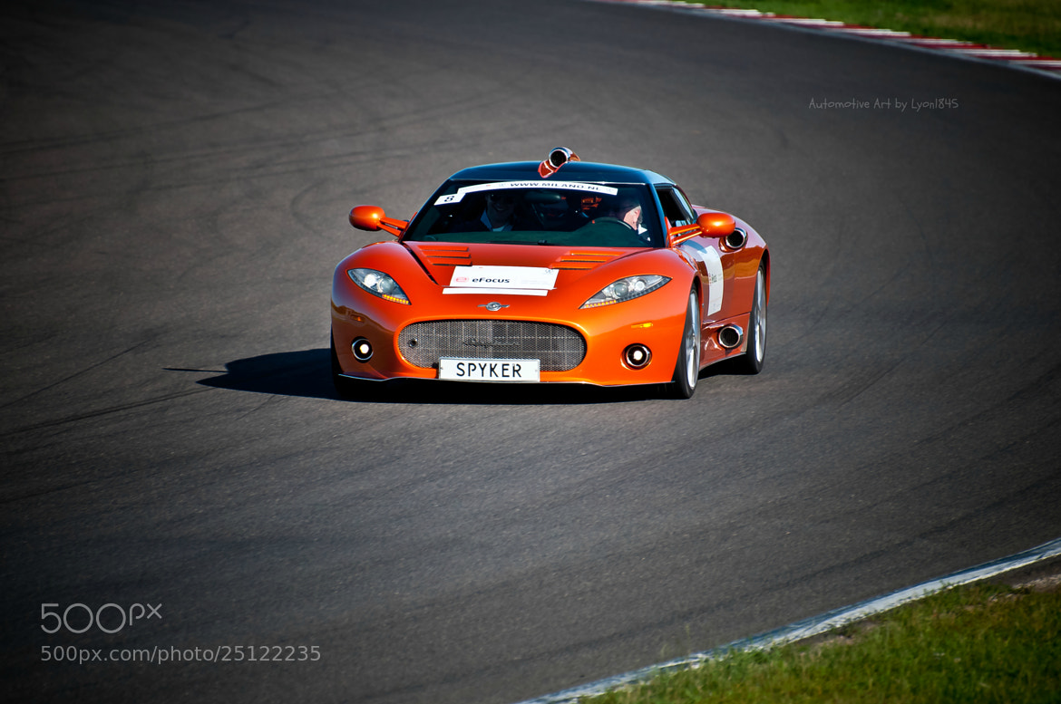 Photograph Spyker C8 Aileron by lyon1845 on 500px