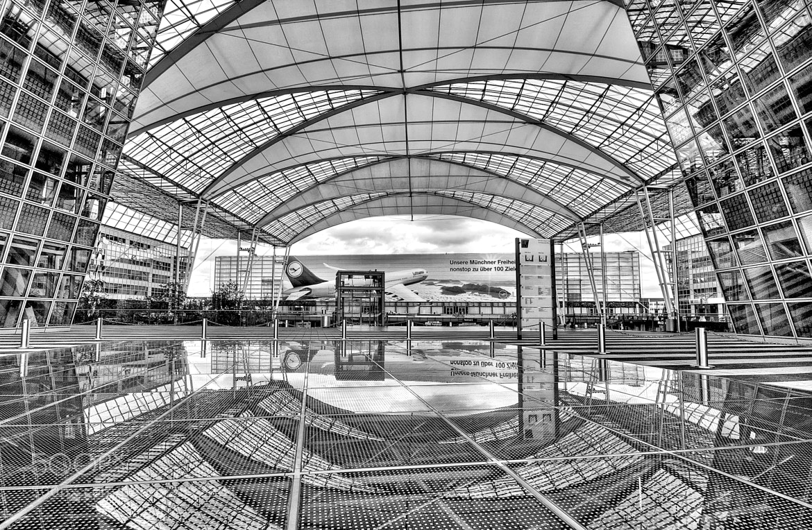 Photograph Munich Airport by Paolo Capoccia on 500px