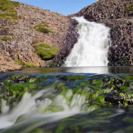 Waterfall, Nikon D5100, AF-S VR Zoom-Nikkor 24-85mm f/3.5-4.5G IF-ED