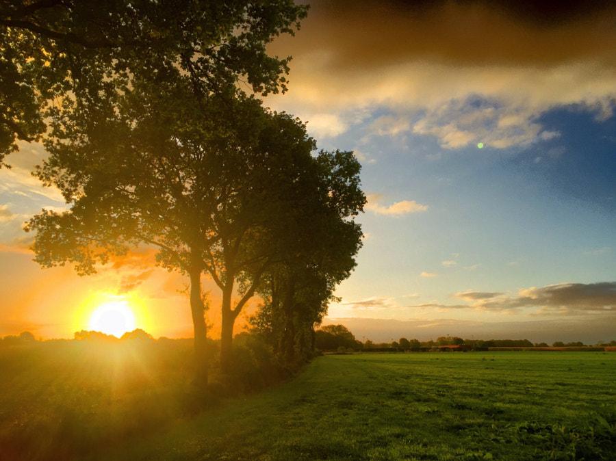 Idyllic sunrise by Bjorn Beheydt on 500px.com