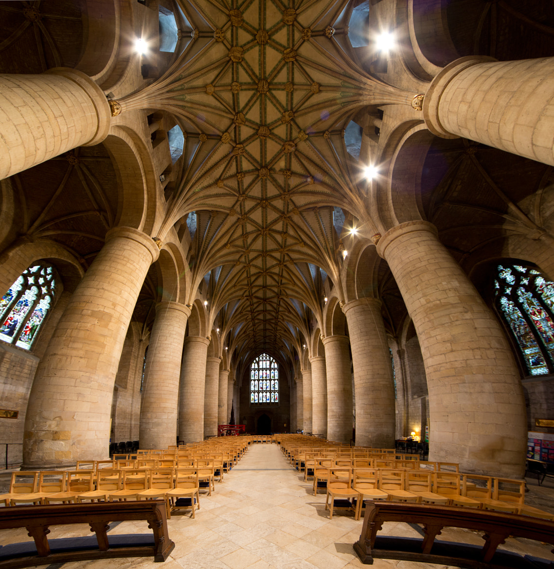 Photograph Tewkesbury Abbey by Roland Shainidze on 500px