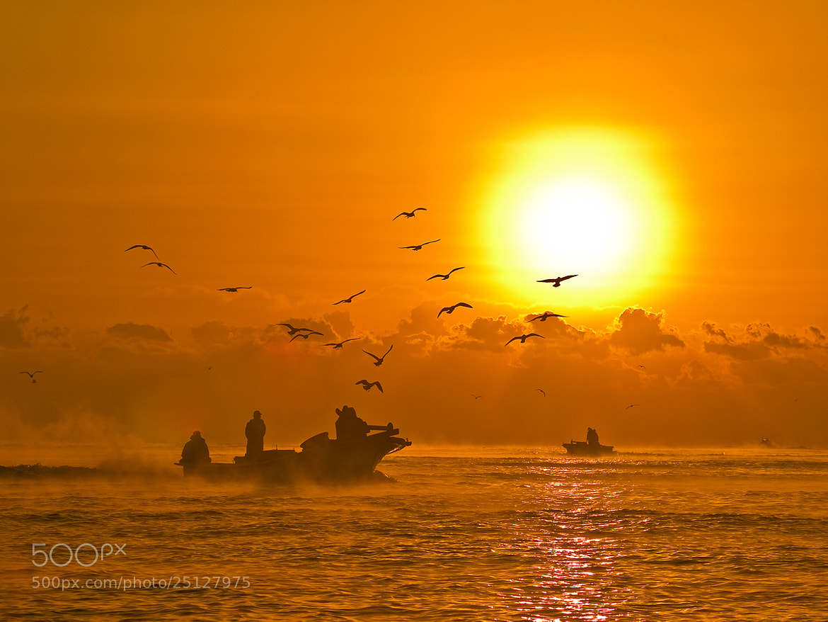 Photograph Sea sunrise by Kyoung Koun Park on 500px