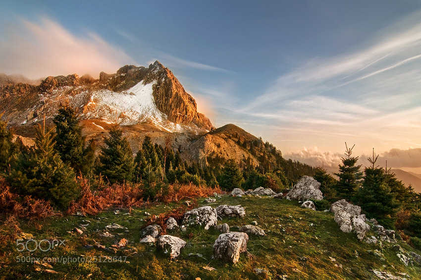Photograph Mountain Xirovouni by Chris Kaddas on 500px