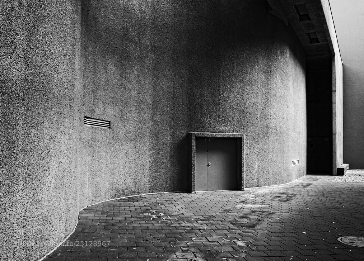 Photograph Kabelwerk Maintenance Entrance by Marcus T on 500px