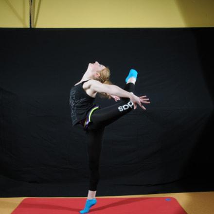 Gymnast, Nikon D300, Sigma 18-50mm F2.8 EX DC