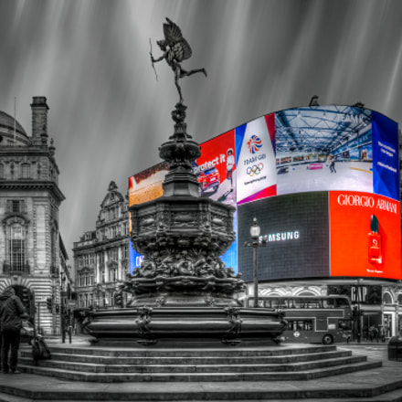 Piccadilly Circus, Canon POWERSHOT A80