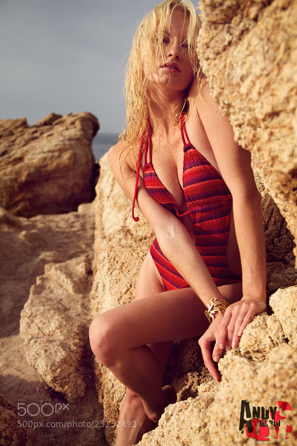 Photograph REd BikiNi oN tHe rOckS by Andy Quarius on 500px