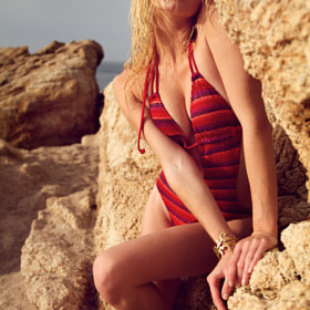 REd BikiNi oN tHe rOckS by Andy Quarius (andyquarius)) on 500px.com