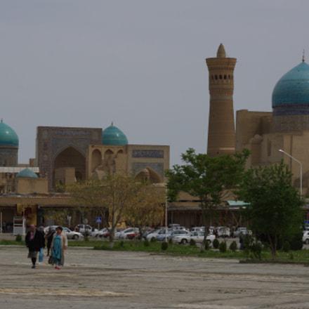 Bukhara. Blue domes, Pentax K-X, smc PENTAX-DA L 55-300mm F4-5.8 ED