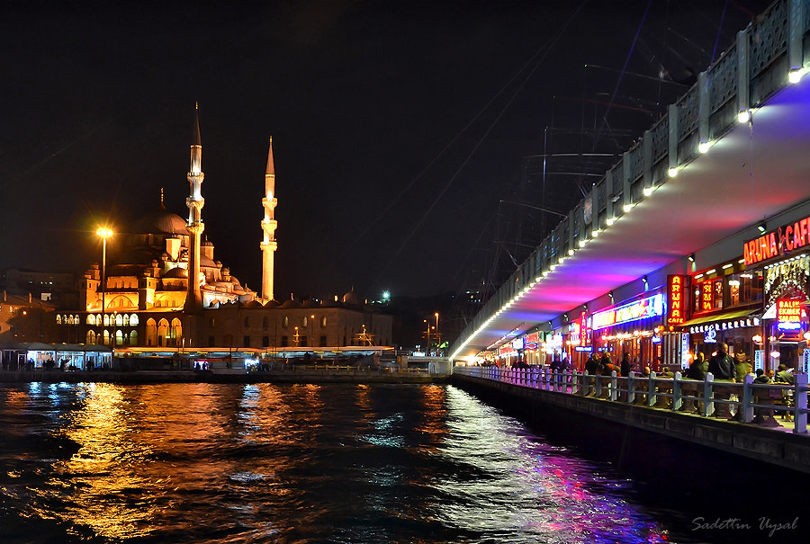 Photograph The New Mosque and Galata Bridge - Istanbul by Sadettin  Uysal on 500px