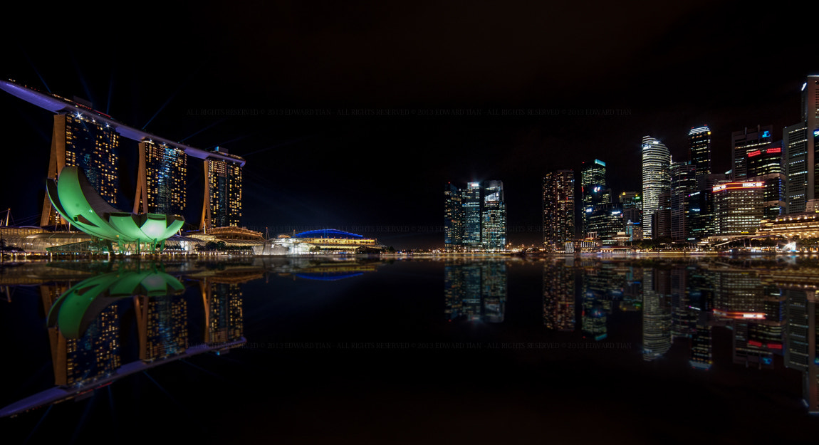 Photograph A City Reflects by Edward Tian on 500px