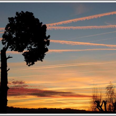 Lever de soleil, Nikon COOLPIX S6500