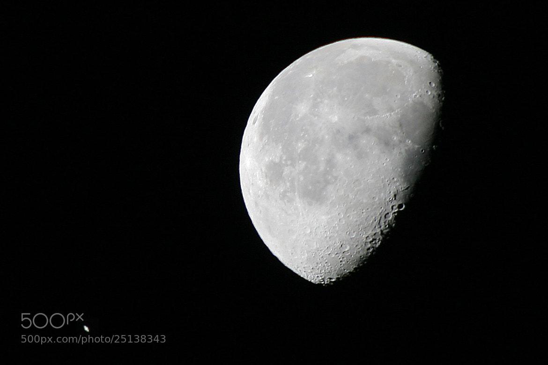 Photograph Moon Near Saturn by Larry Landolfi on 500px