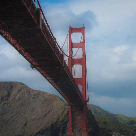 The Golden Gate Bridge, Canon POWERSHOT SX1 IS