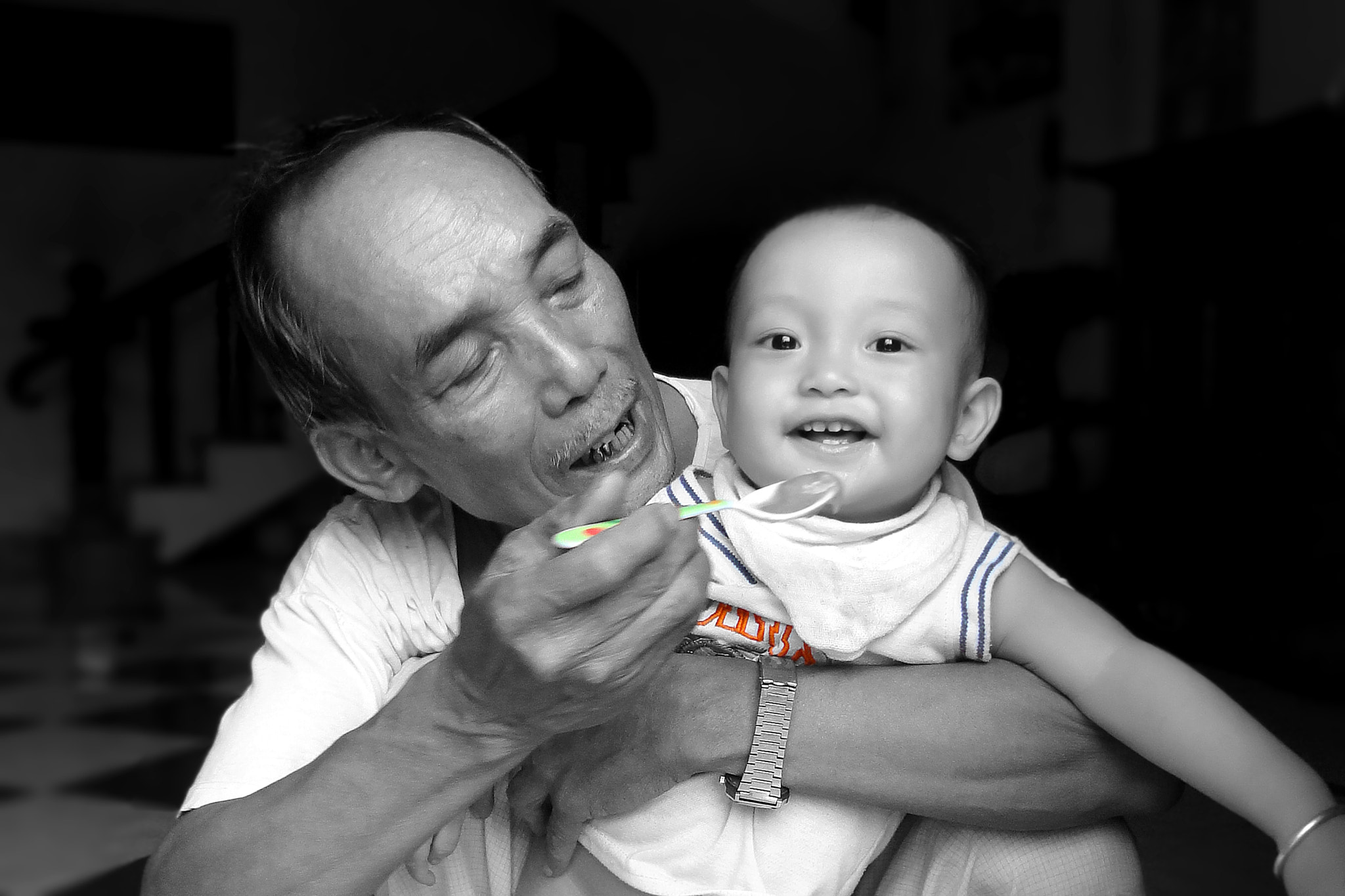 Photograph Grandfather & Grandson by DR.OF.IN | Photography on 500px