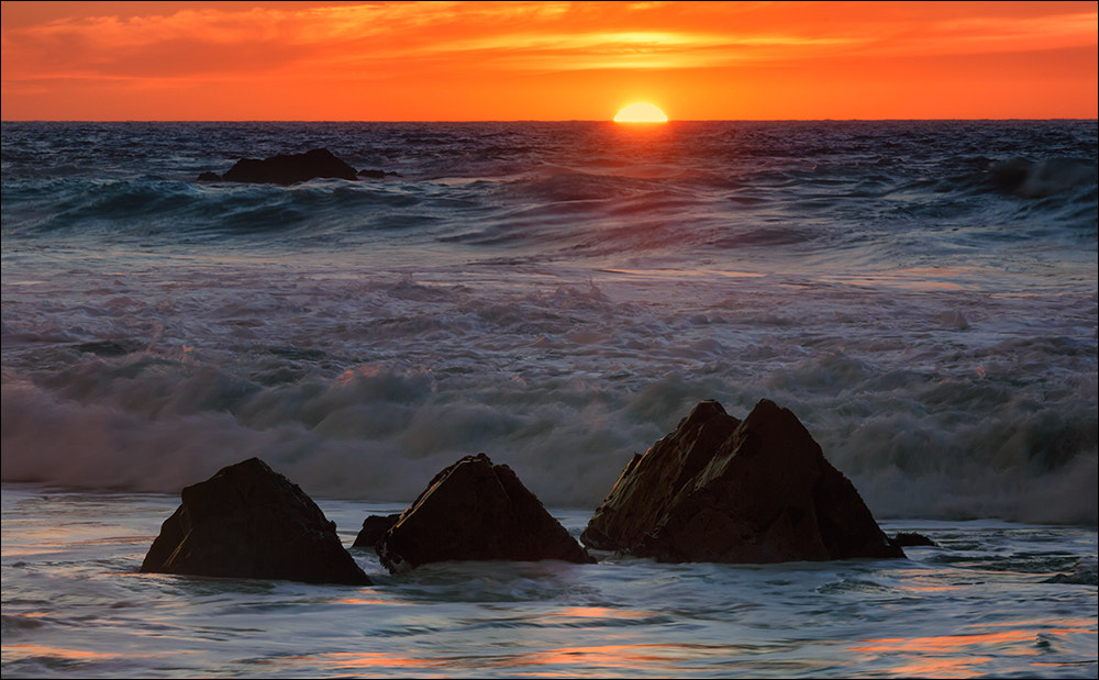 Photograph Garrapata Beach Winter Sunset by Don Smith on 500px