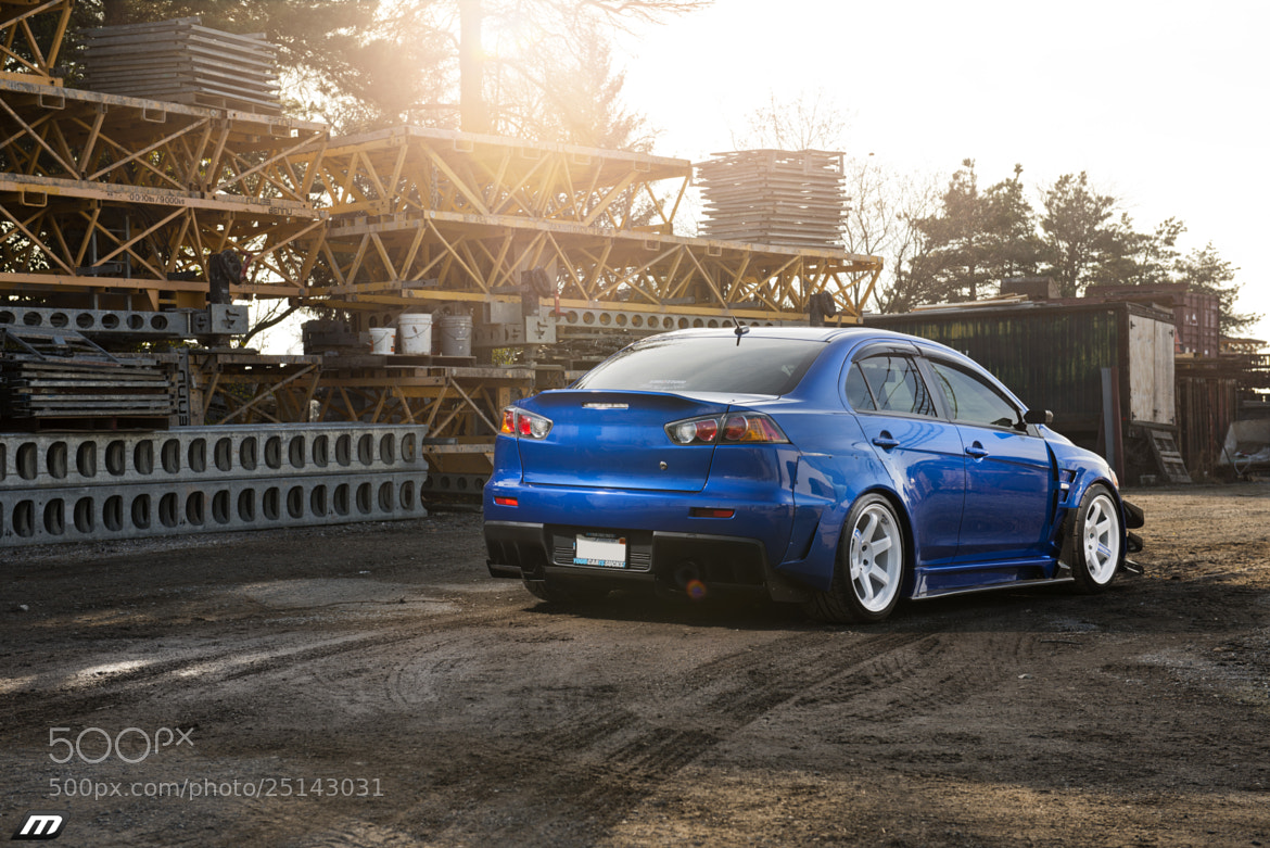 Photograph Mike's Varis Widebody EvoX by Johan Lee on 500px