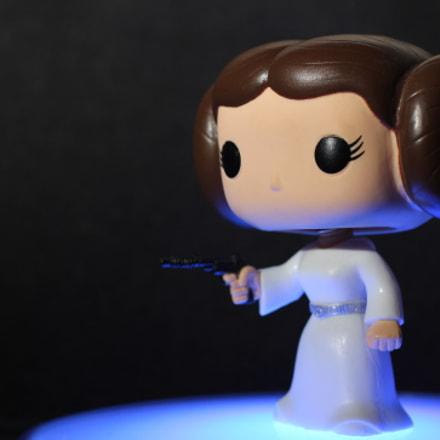 Princess Leia Pop Figure, Canon EOS 550D