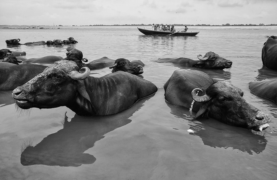 Photograph Life on the Ganges by Saumalya Ghosh on 500px